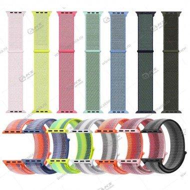 Ремешок нейлоновый для Apple Watch 38mm/ 40mm мятный