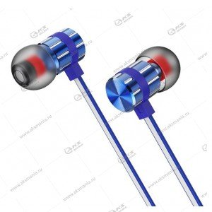 Наушники Borofone BM48 Acoustic speaker с микрофоном синие