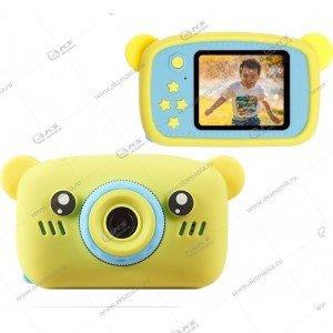 Детский фотоаппарат Zoo Kids Camera мишка желтый