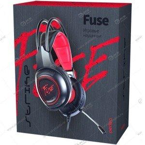 Наушники Perfeo Fuse PF_A4422 , кабель 2,2м, черная