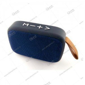 Колонка портативная Charge G2 BT TF FM синий