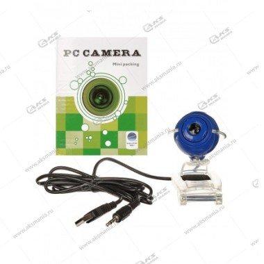 Веб-камера A1 с микрофоном, синяя