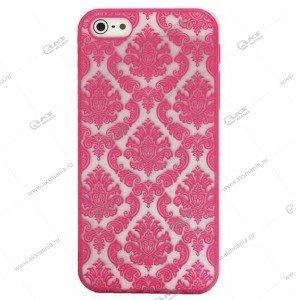 Пластик Samsung S5/i9600 Kenzo розовый