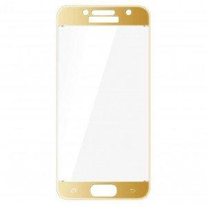Защитное стекло Samsung A710 (2016) Gold