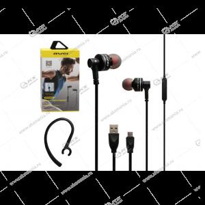Наушники Bluetooth Awei B990BL Black