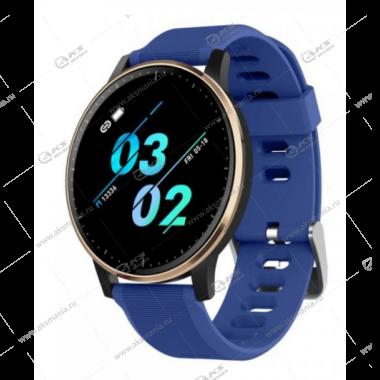 Smart Bracelet Q20 Шагомер Пульсометр синий