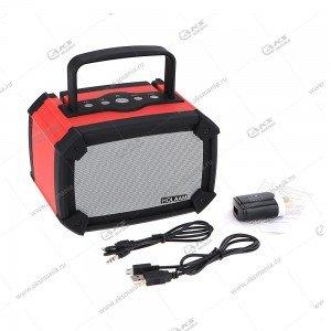 Колонка портативная Holaam MA-960-B2 BT FM SD USB красный