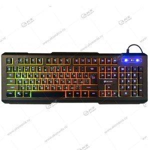Клавиатура KGK-21U Dialog Gan-Kata - игровая с подсветкой, USB, чёрная
