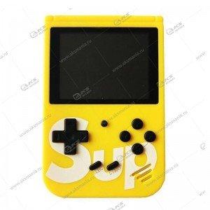 Карманная портативная игровая приставка Sup Game box 400in1 желтый
