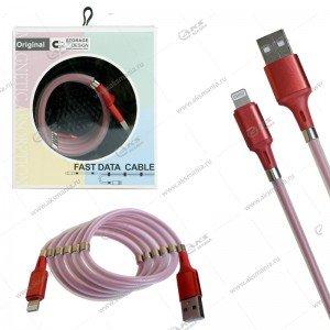 Кабель magnet MR-36 Lightning USB 1м красный
