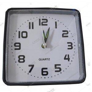 Часы 008 будильник черный