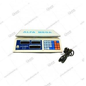 Весы торговые настольные электронныу Alfa Mega ACS-788 до 40кг
