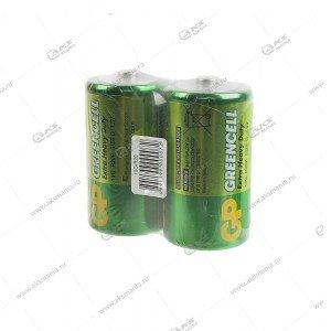 Элемент питания GP R20/2SH Greencell