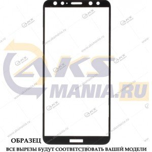 Защитное стекло Huawei Honor 7X 5D Black