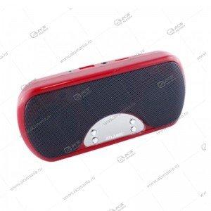 Колонка портативная ATLANFA AT-6525 FM TF USB красный