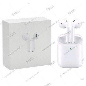 Наушники Bluetooth Apods 2 JL белый