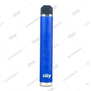 Электронная одноразовая сигарета City 1600 затяжек Черника
