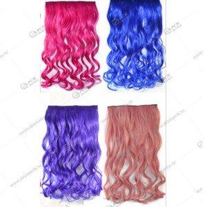 Новогодие парики цвета в ассортименте