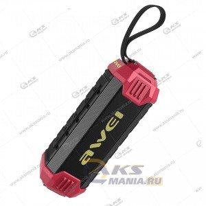 Колонка портативная Awei Y280 BT TF red