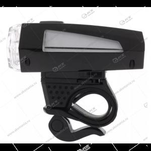 Фонарь на велосипед Smartbuy SBF-BF03-B, светодиодный, 1 LED, 3W, черный, 3xAAA