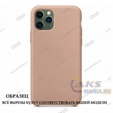 Silicone Case (Soft Touch) для iPhone 11 Pro Max пудра
