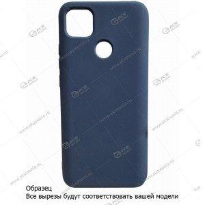 Silicone Case (Soft Touch) для iPhone 12 mini темно-синий