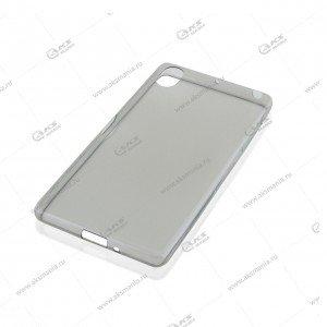 Силикон Asus ZenFone MAX тонкий серый