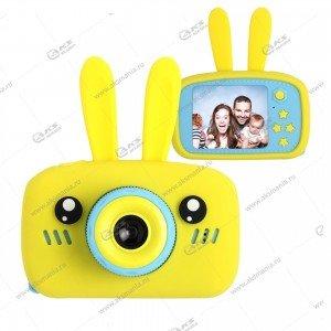 Детский фотоаппарат Zoo Kids Camera заяц желтый