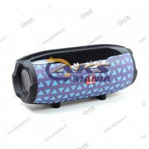 Колонка портативная Charge E14+ BT TF серо-голубой