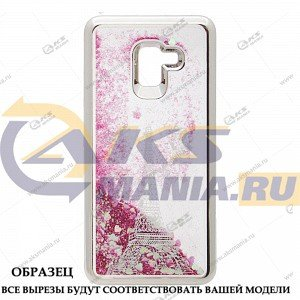 Силикон Аквариум Huawei Honor 8C Paris серебро
