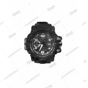 Наручные часы KASIO водонепроницаемые в пластике черные