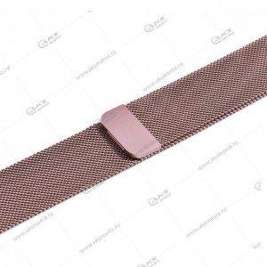 Ремешок миланская петля для Apple Watch 38mm/ 40mm розовый