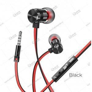 Наушники Borofone BM48 Acoustic speaker с микрофоном черные