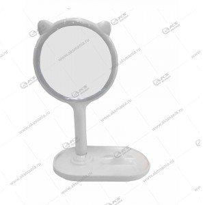 Зеркало для макияжа настольное с LED подсветкой NZ710