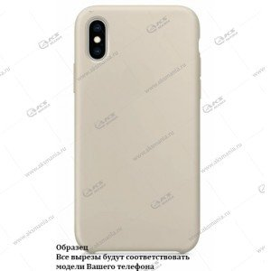 Silicone Case для iPhone 11 Pro Max пудровый