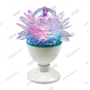 """Светодиодная лампа """"Лотос""""- фаберже на подставке"""