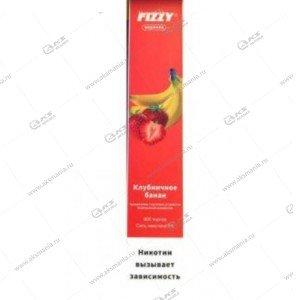 Электронная одноразовая сигарета Fizzy Coronka 2% 800 затяжек Клубника-банан