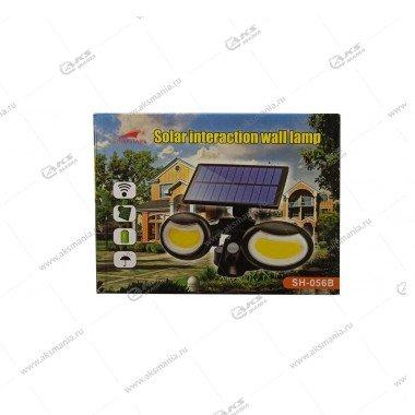 Автономный уличный светодиодный светильник GY-1413/SH-056B с датчиком движения