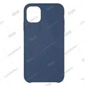 Silicone Case (Soft Touch)  для iPhone X/XS темно-синий
