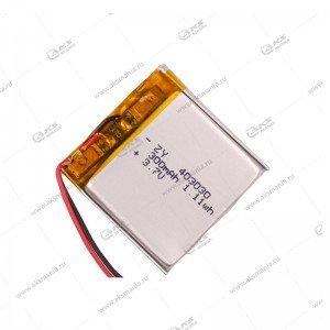 Аккумулятор универсальный 403030 300mAh литий-ионный