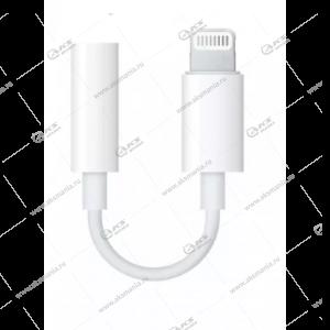 Переходник Pop-Up JH-002 Lightning 8-pin-3.5mm белый