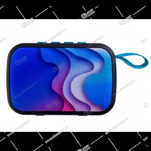 Колонка портативная Perfeo ZENS MP3.USB.SD.AUX волны