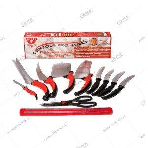 Набор кухонных ножей Contour Pro с магнитным держателем