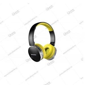 Наушники Bluetooth Awei A500 Накладные черно-желтые