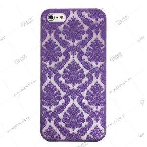 Пластик Samsung S6 Kenzo фиолетовый