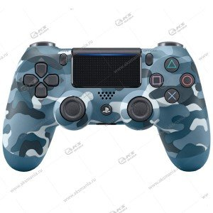 Gamepad PS4 Dualshock 4 wireless камуфляж синий