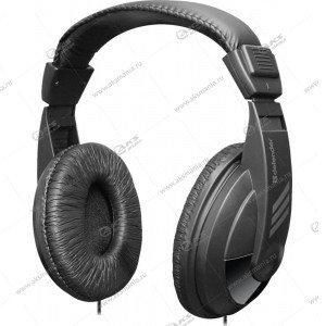 Гарнитура полноразмерная Defender Gryphone HN-751, кабель 3м, черн.