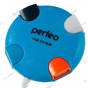 Hub Perfeo PF-VI-H020 синий