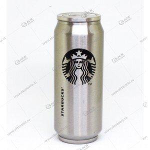 Термокружка Starbucks 350мл в виде железной банки