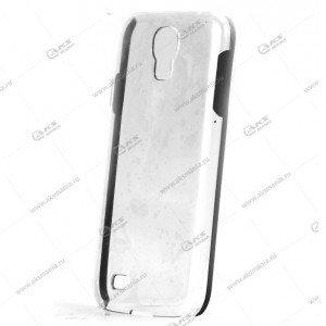 Пластик Samsung S4/i9500 прозрач с черный
